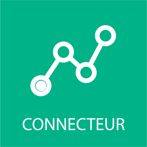 connecteur etapes